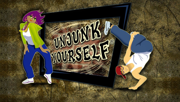 Dr David Katz Health Programs page: Unjunk Yourself Logo