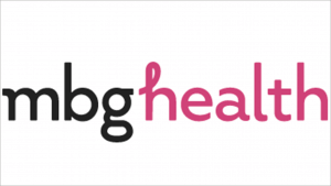 "Mind Body Green Health logo: ""mbghealth"" with ""mbg"" in black and ""health"" in pink"